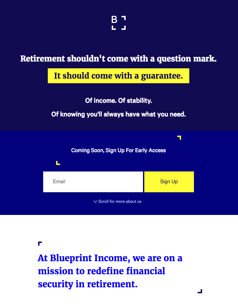 Digital longevity insurance abaris to become blueprint income this is blueprint income malvernweather