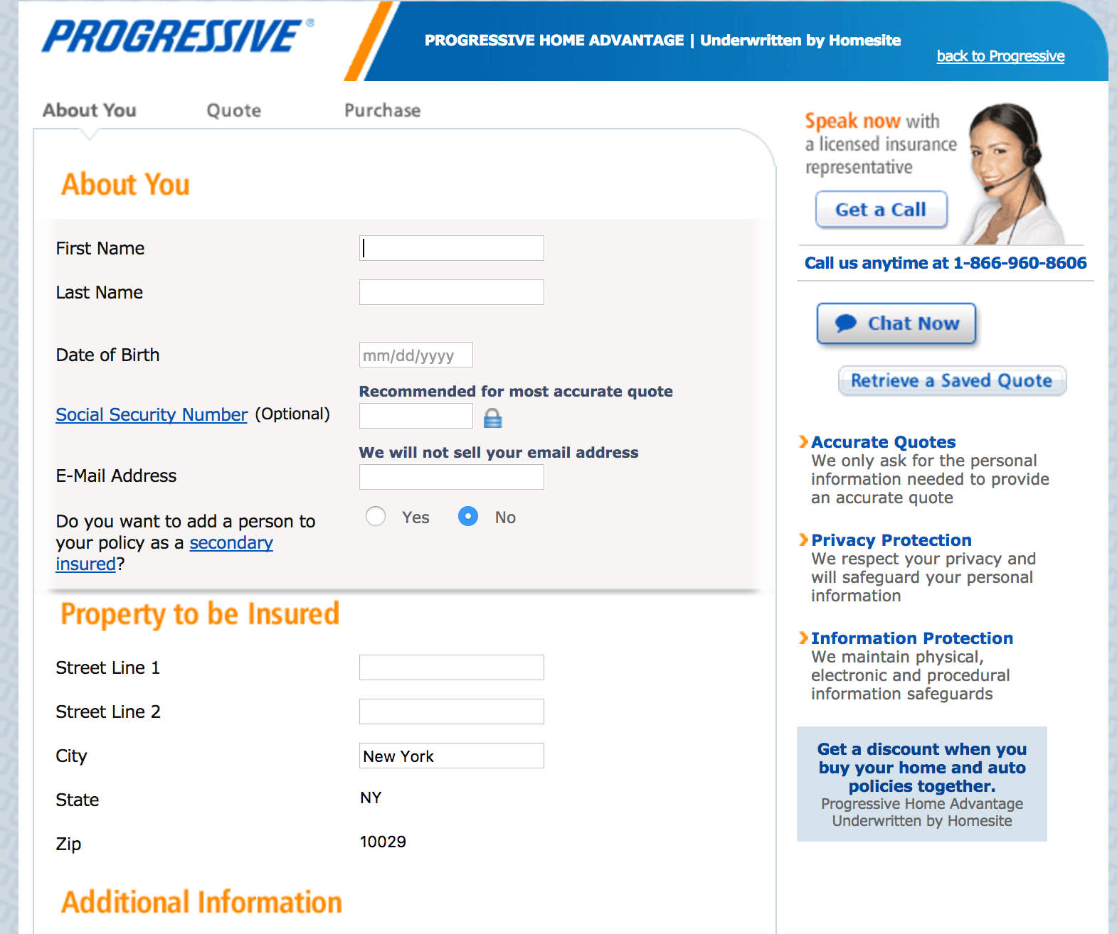 Progressive Car Insurance Quote Video Coverager Calls Out Progressive's Homequote Explorer Before