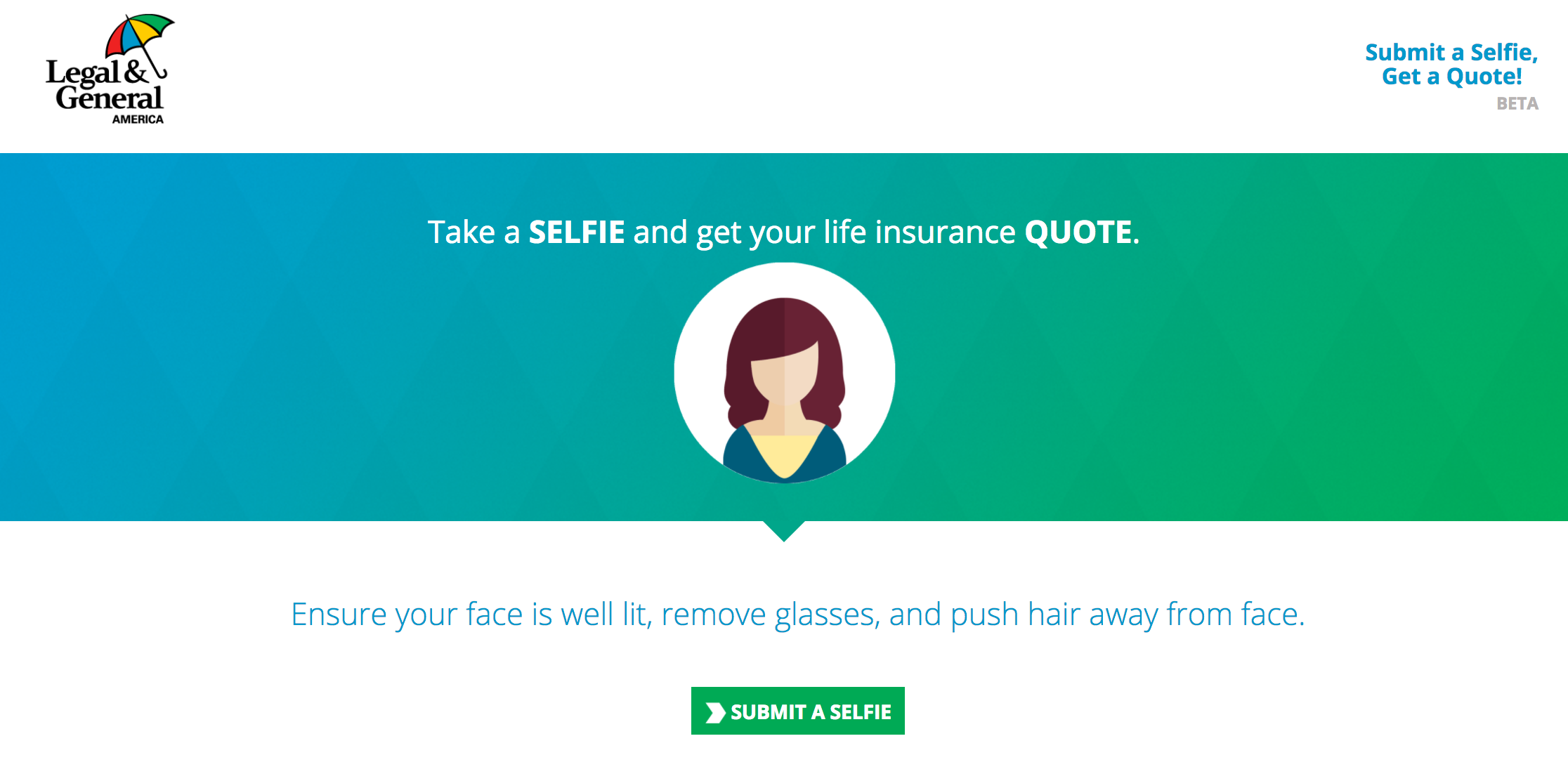 Quote On Life Insurance Pleasing Take A Selfie & Get A Life Insurance Quote