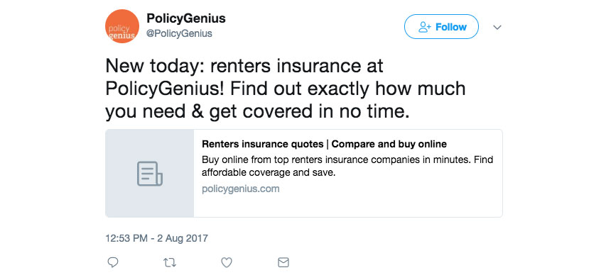 Renter Insurance Quotes Awesome Renters Insurance Policygenius Vslemonade