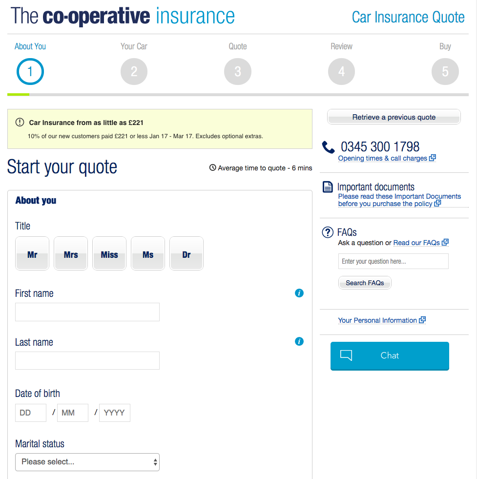 Co-op: First Insurer To Launch A Car Insurance Chatbot In