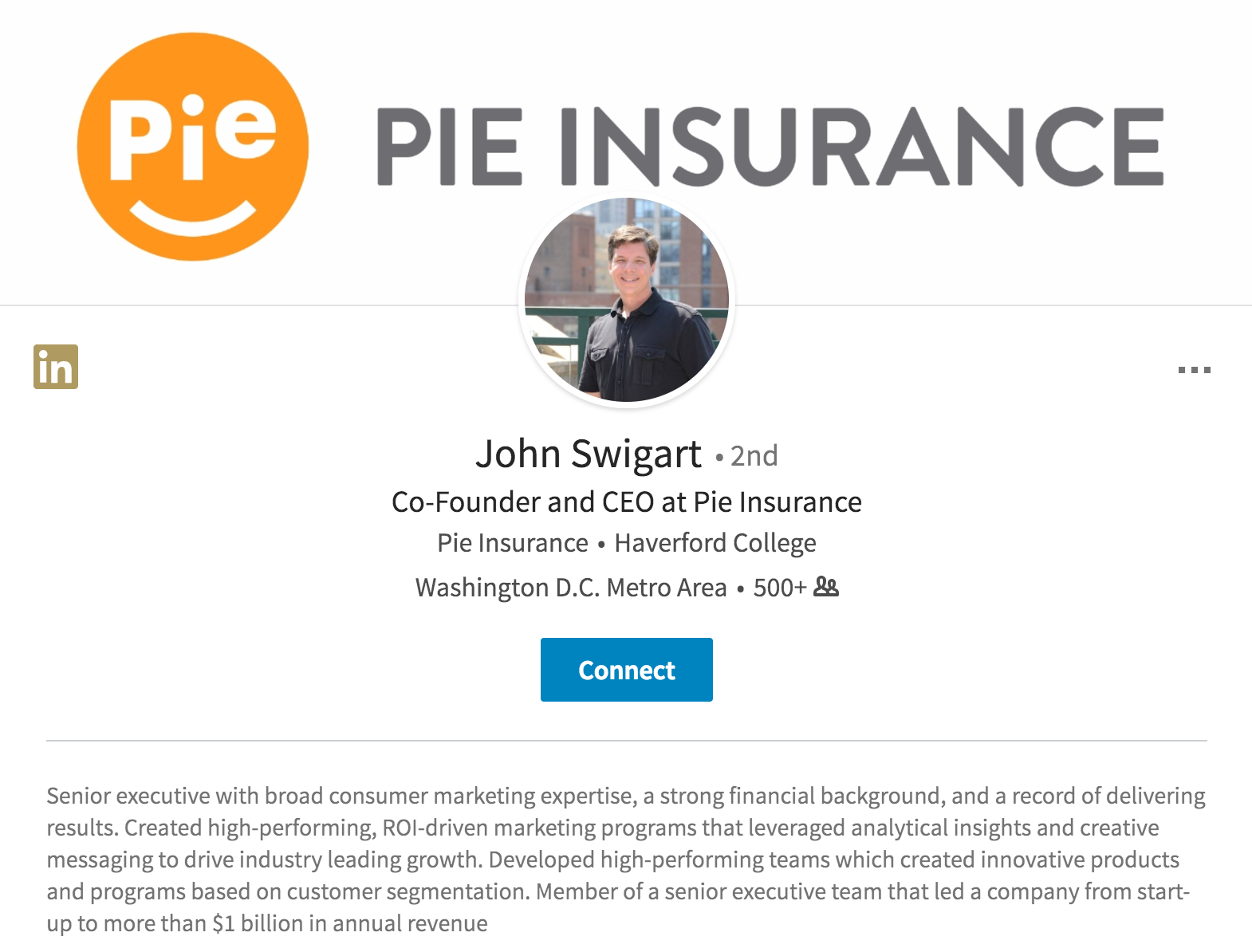 Esurance Quote Exesurance Executive Forms Wc Insurance Startup Named Pie