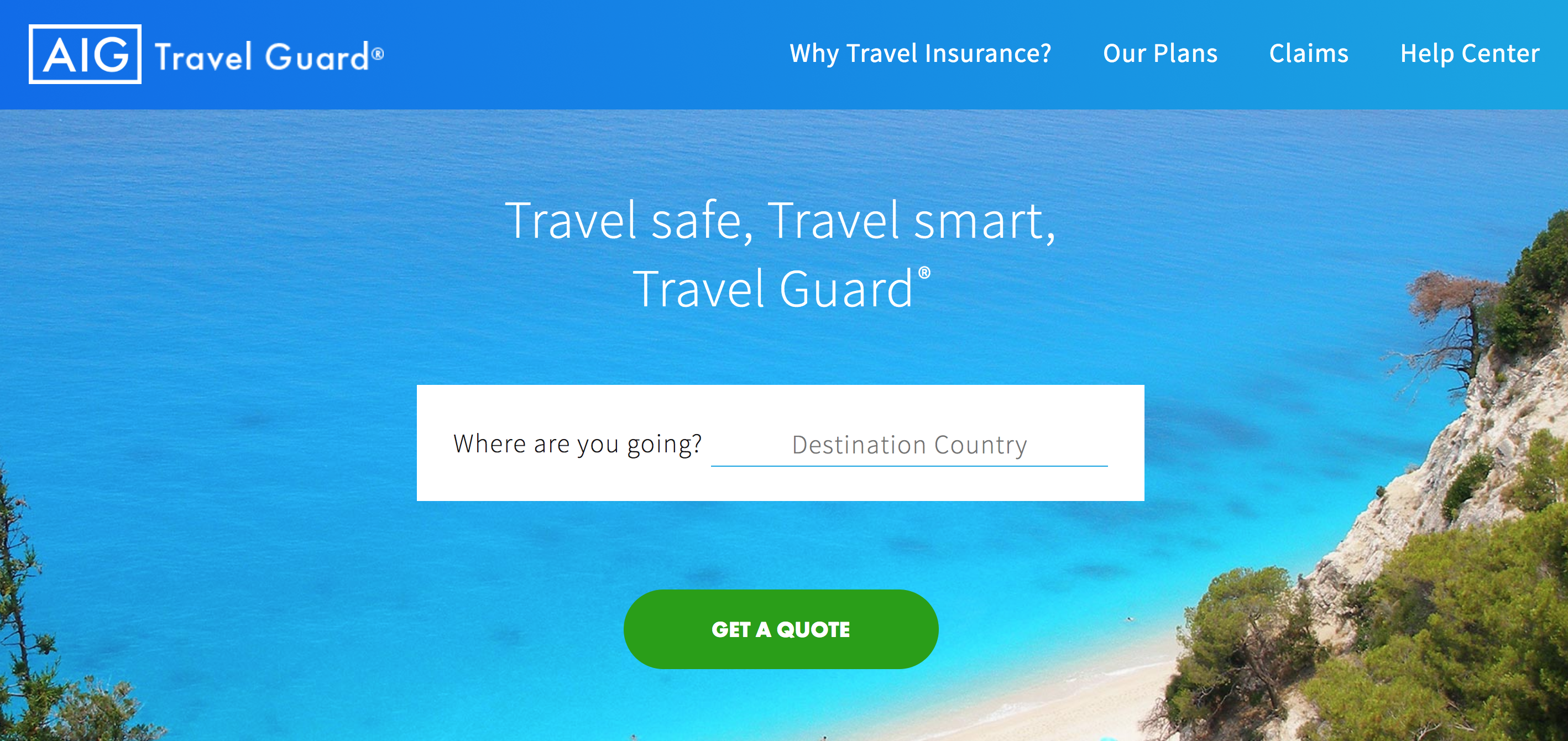 Aig Quote Aig Offers Travel Guard Products To United Airlines' Customers
