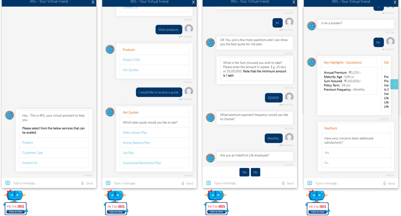 Guaranteed Life Insurance Quotes Indiafirst Life Insurance Launches 'iris' Chatbot To Quote