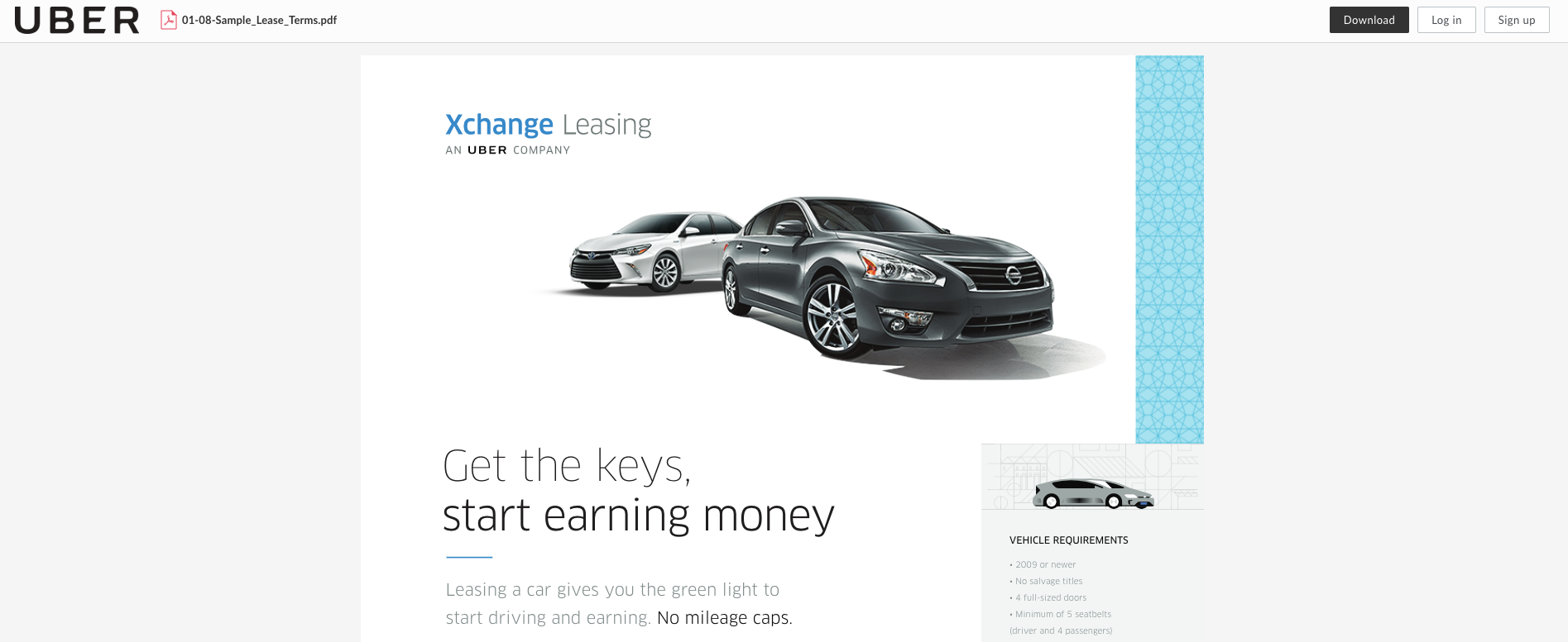 Uber Sells Us Auto Leasing Business To Insurance Agency Paas Company
