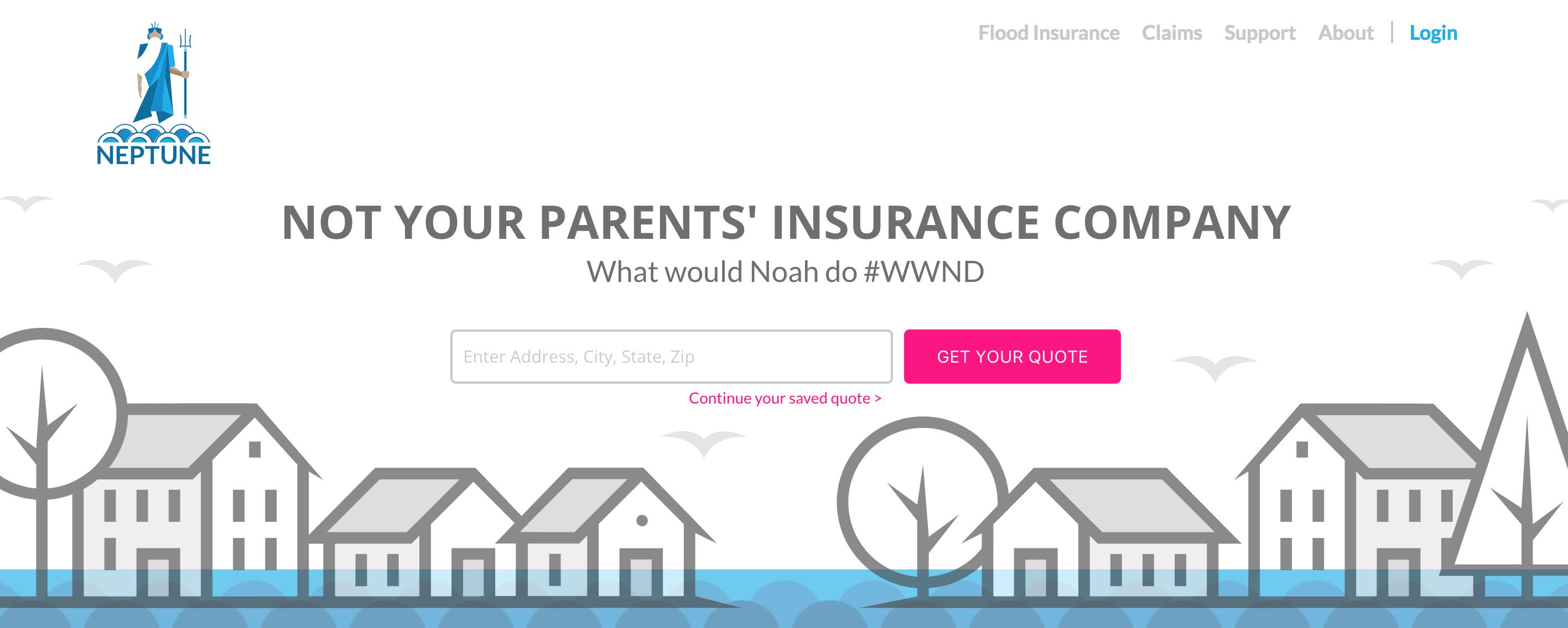 Flood Insurance Quotes Neptune Flood Raises $2M