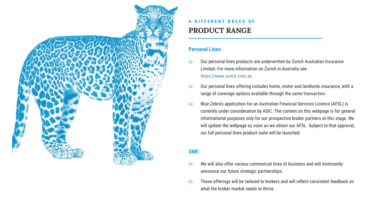 Introducing Blue Zebra S Blue Leopard