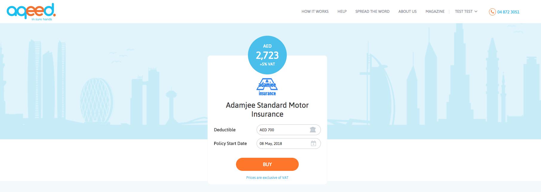 Car Insurance Comparison Dubai