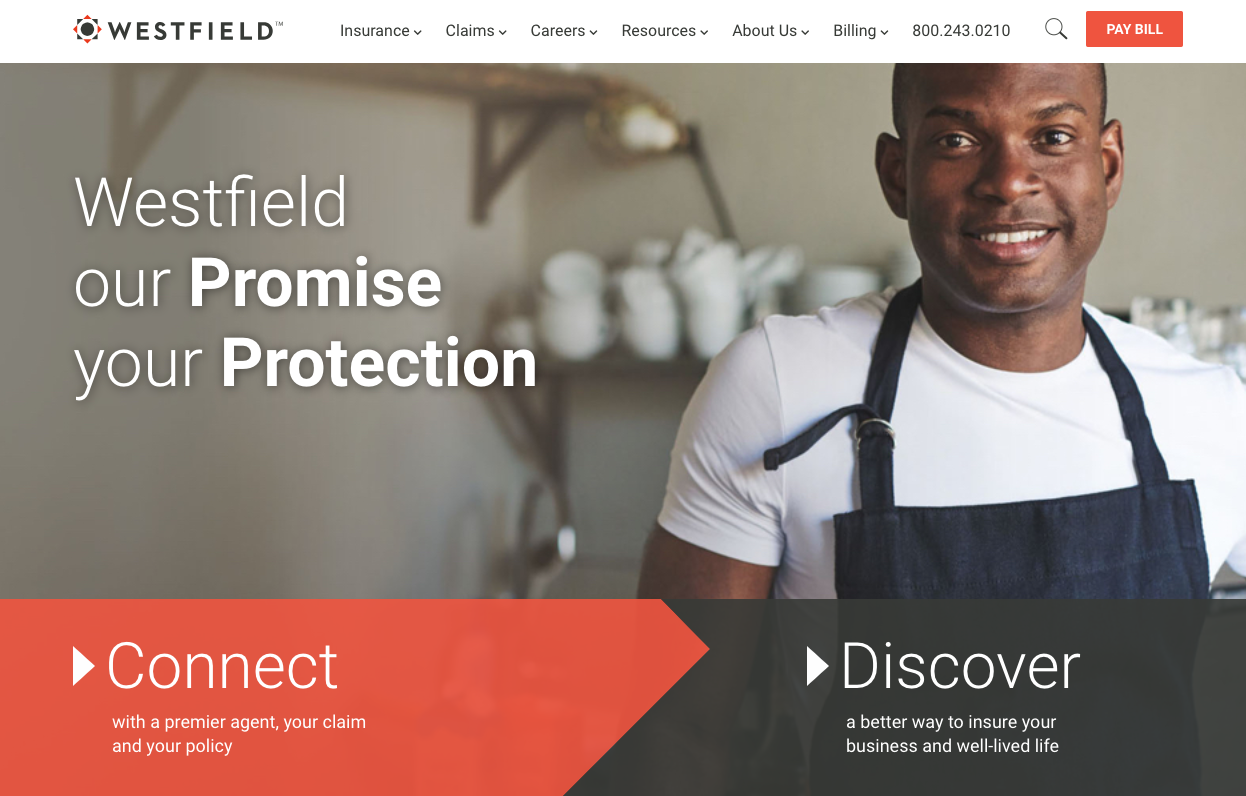 Spotted: Westfield Insurance Has a New Look