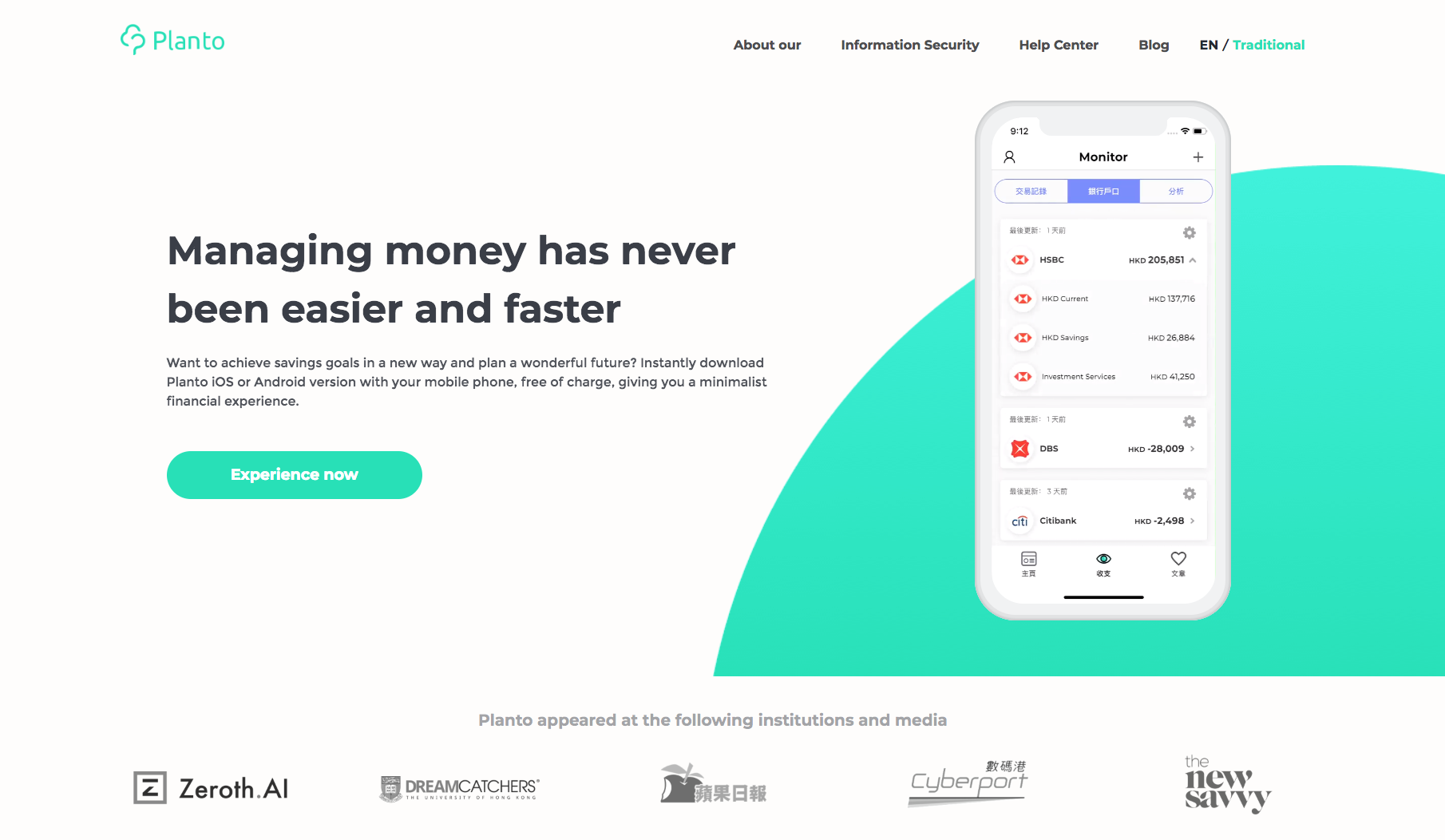 Planto App-Personal Finance Made Simple