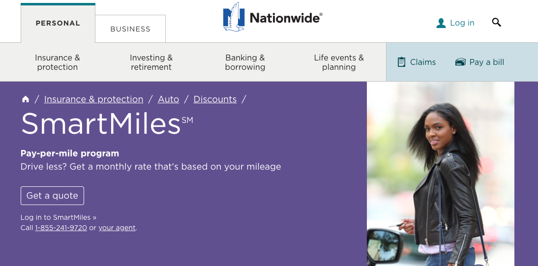 Nationwide Launches SmartMiles