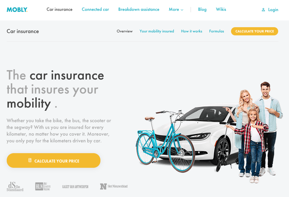 Mobly Launches Pay-Per-Mile Insurance