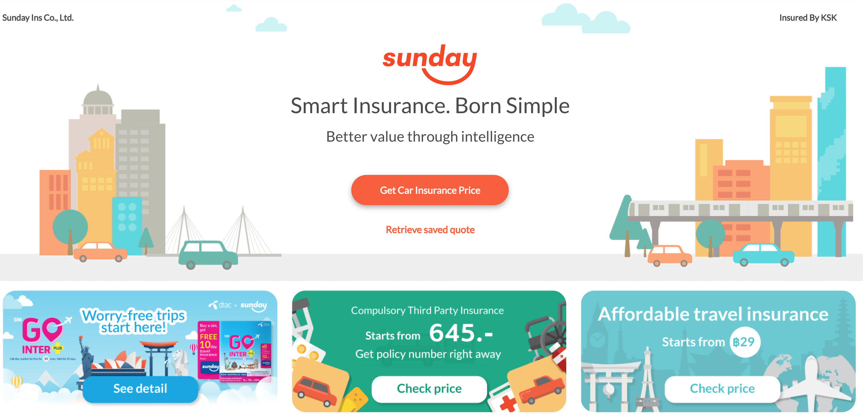 Case Study: Sunday Delivers Lower-Cost Premiums Using AWS