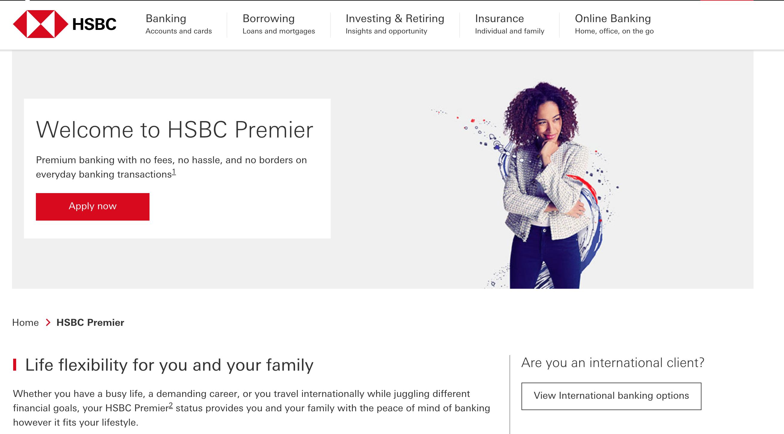 HSBC Bank Launches Enhanced Premier Proposition