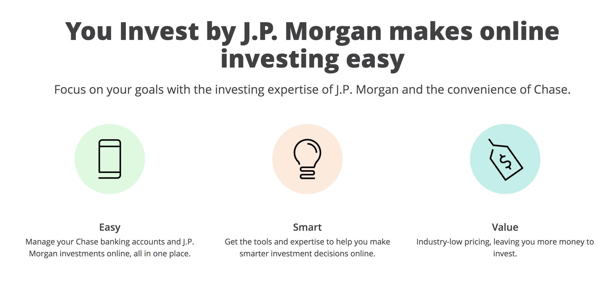 JP Morgan Introduces Low-Cost Robo-Adviser