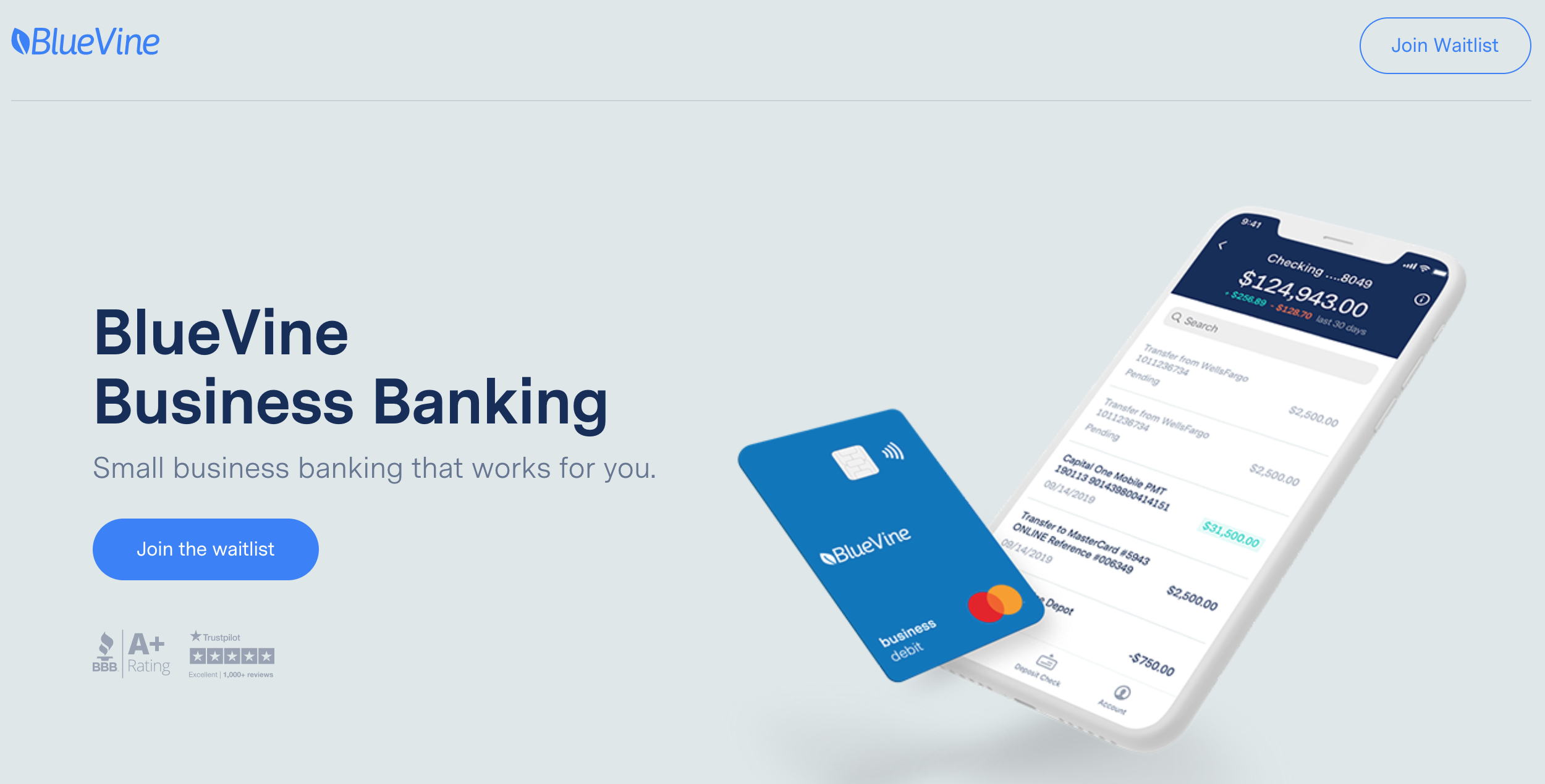 Small Business Banking >> Bluevine Introduces Bluevine Business Banking