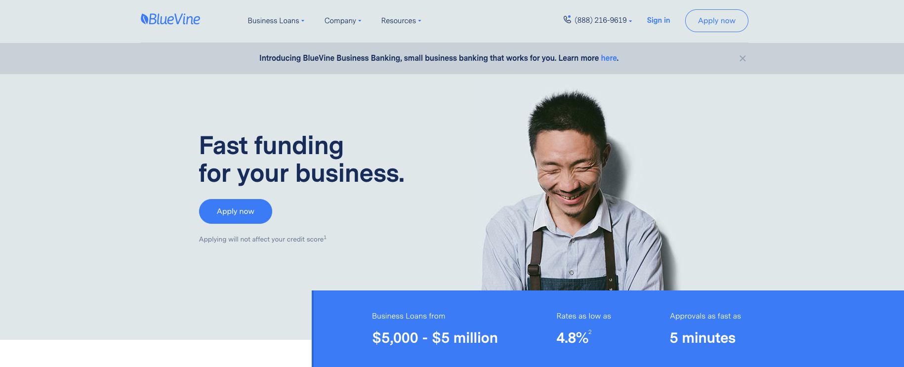 Small Business Banking >> Bluevine Raises 102 5m To Build Small Business Banking