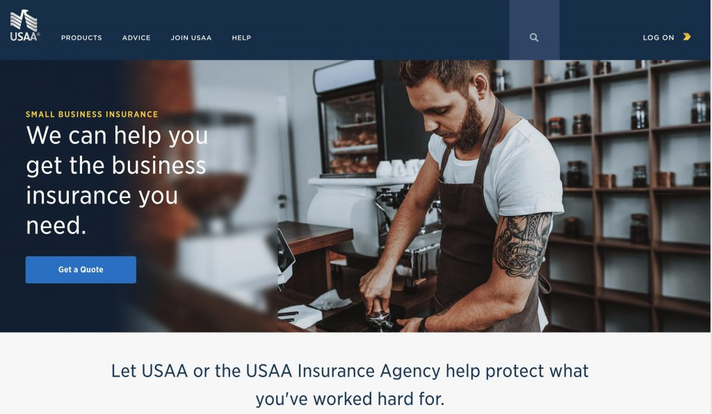 USAA to offer small business insurance